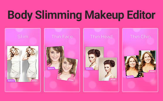 Body Slimming Makeup Editor