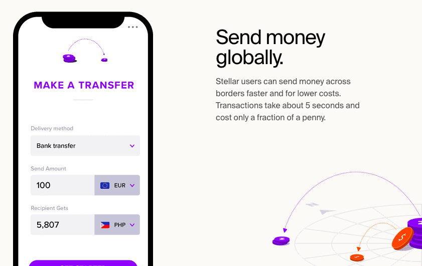 Send money globally