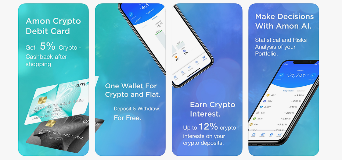 Amon Mobile Wallet