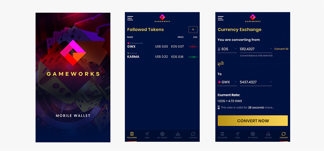 Gameworks Mobile Wallet